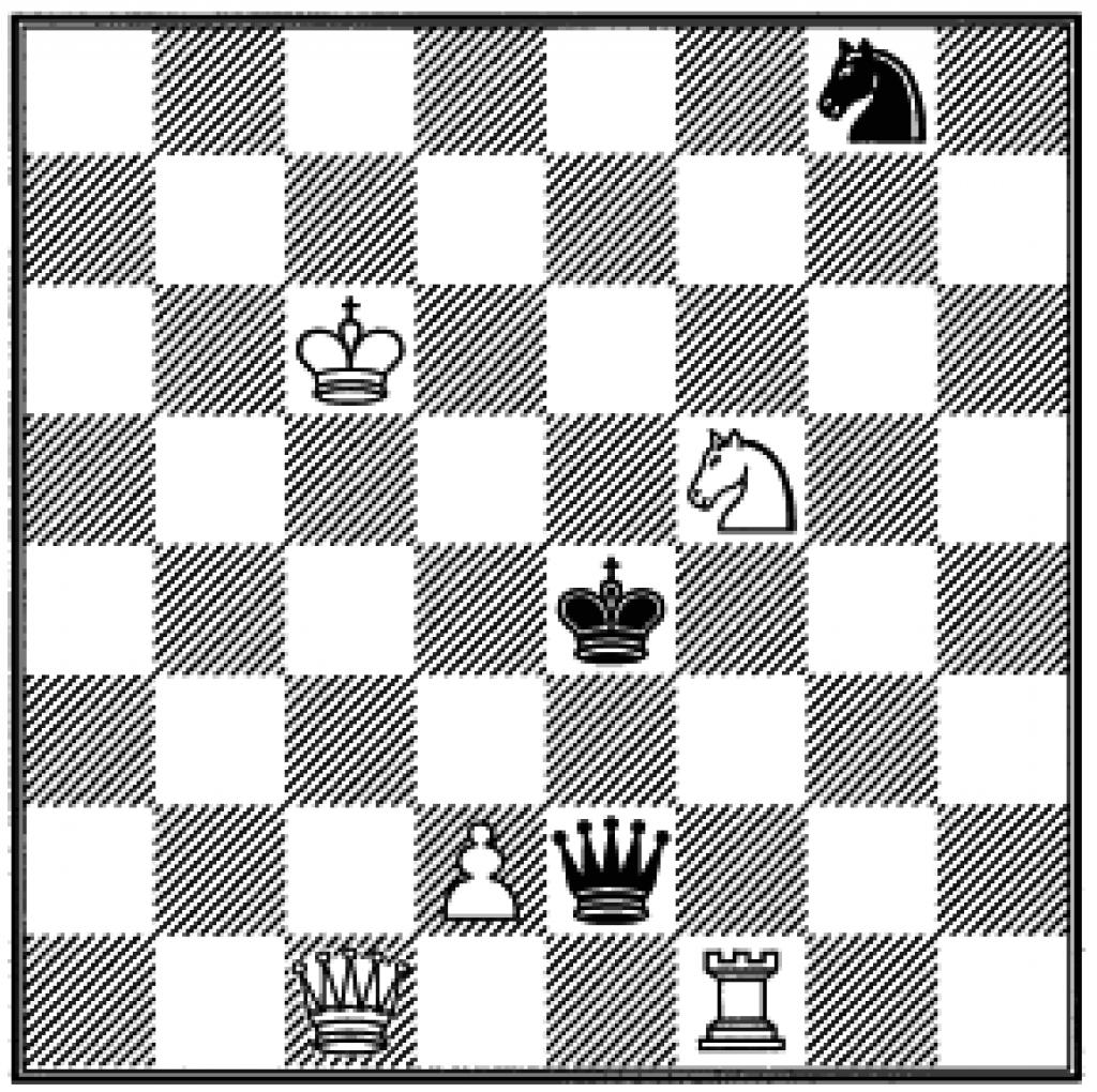 Шахматная партия, в которой учавствовала Алиса