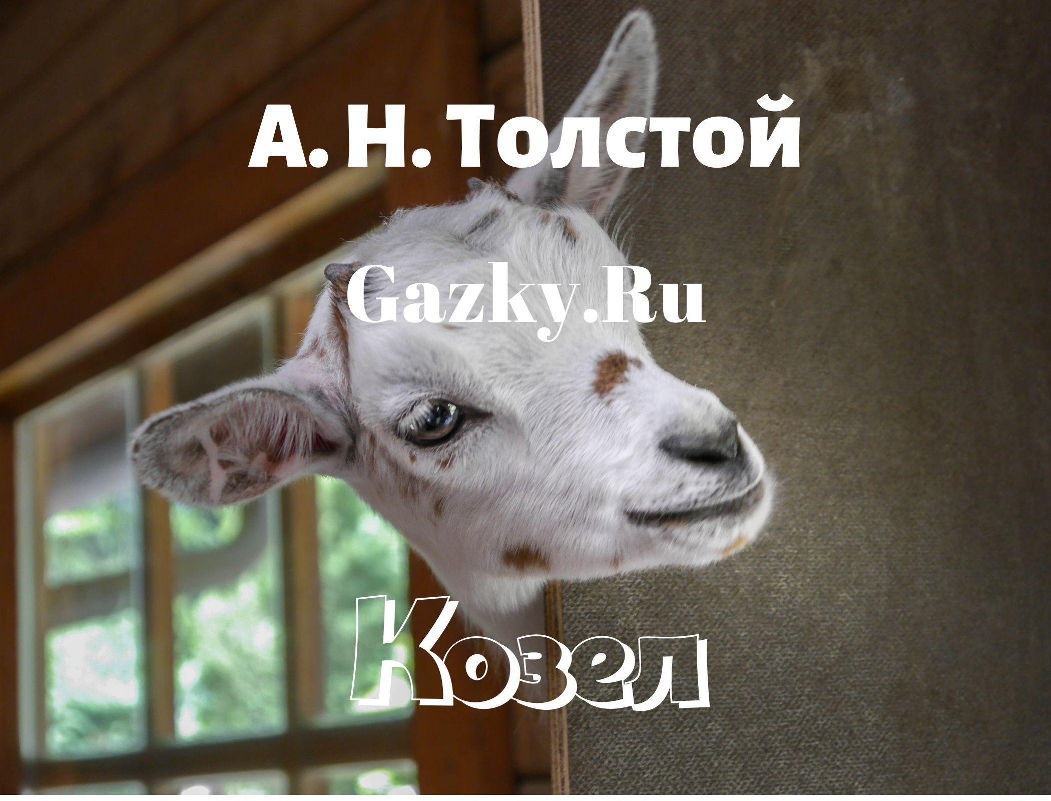 """Сказка Толстого А. Н. """"Козел"""""""