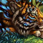 Про тигренка любившего принимать ванну