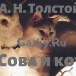 Сказка Сова и кот Толстого Алексея Н.